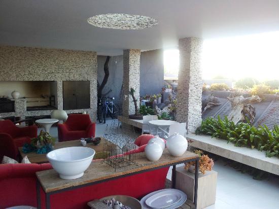 De Kelders Private Villa : Patio