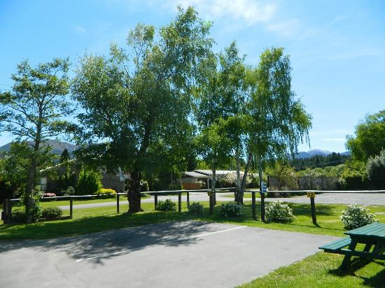 Hanmer Springs Top 10 Holiday Park: View from our spot