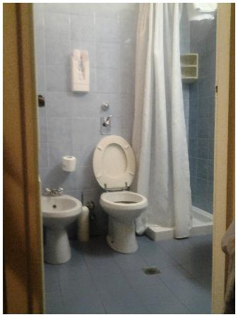 Hotel Garda: bagno