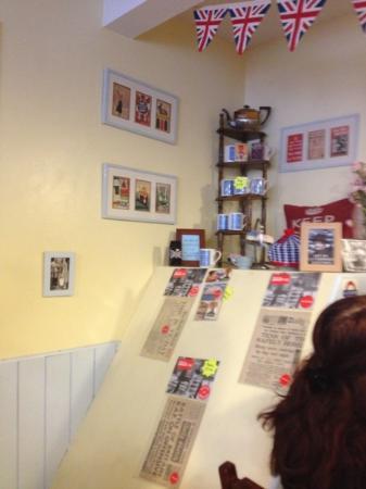 Tea Room In Stratford Up On Avon