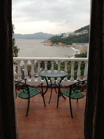 Pousada de Coloane Beach Hotel & Restaurant: pemandangan dari kamar