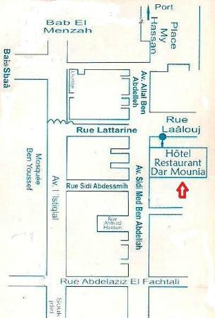 Plan Dar Mounia