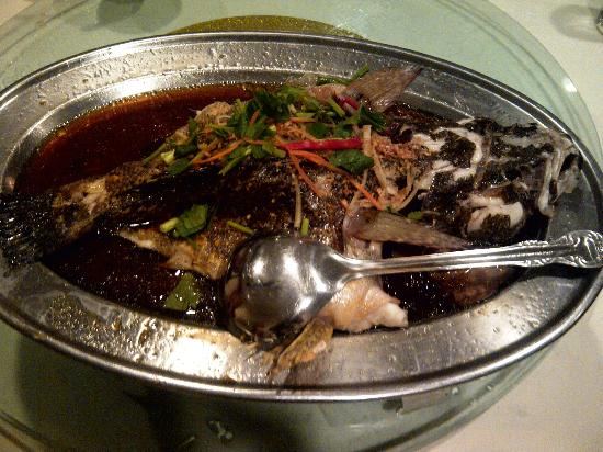 Rock Road Seafood Restaurant: Steamed Marble Guppy