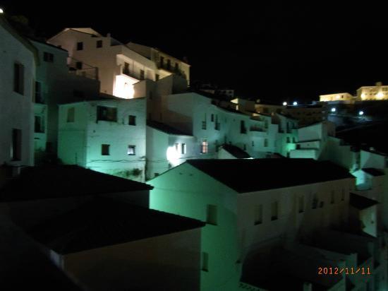 Hotel Rural Casares: Kväll i Casares