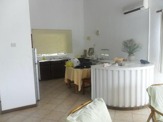 La Residence: coin cuisine