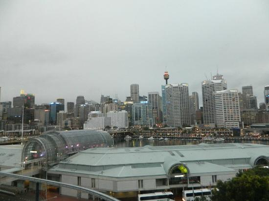 Novotel Sydney on Darling Harbour: View from room