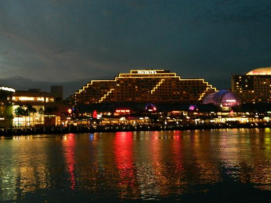 Novotel Sydney on Darling Harbour: View from opposite side of Darling Harbour