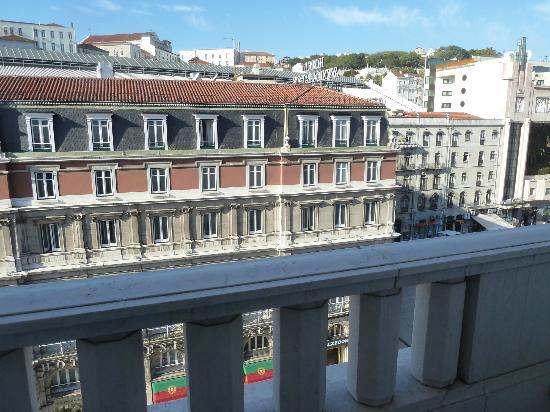 Altis Avenida Hotel: Vista desde el balcón