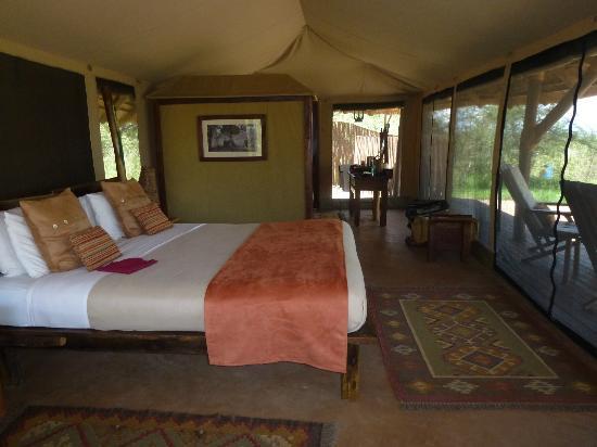 Oliver's Camp, Asilia Africa: tent interior