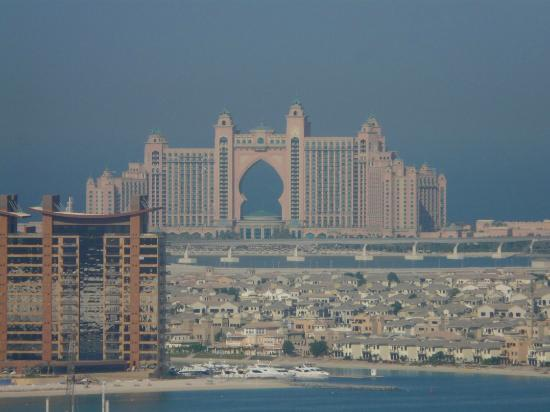 Atlantis And Palm Jumeira From Gloria Hotel