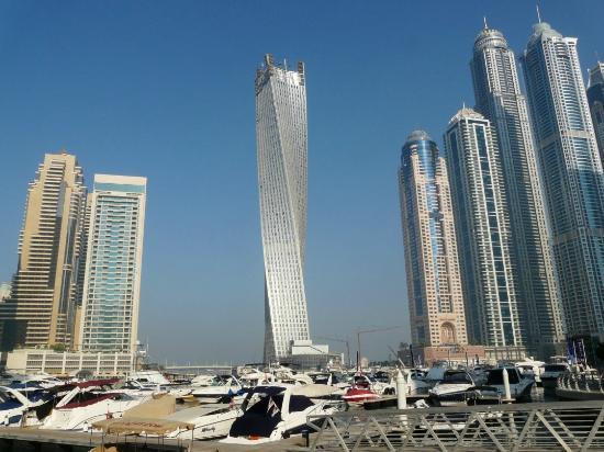 Gloria Hotel Dubai Marina Early Morning