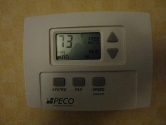 Crowne Plaza Hotel Dallas Downtown: Climate control