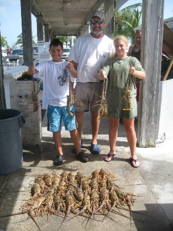Compass Rose Charters: Lobster snorkeling fun