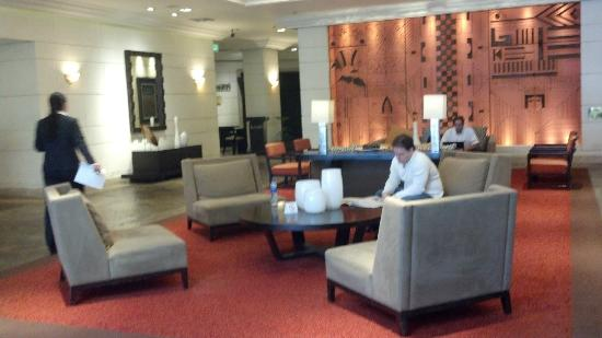 Real InterContinental San Salvador at Metrocentro Mall: lobby