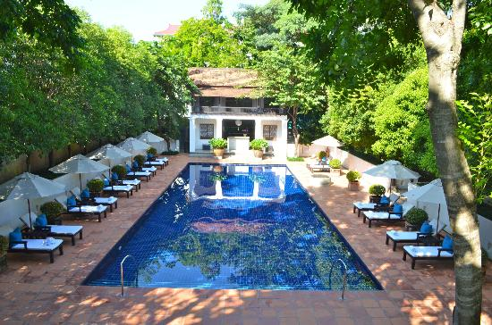 Rachamankha: More of the luxurious pool