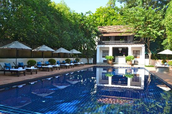 Rachamankha: Very relaxing pool area