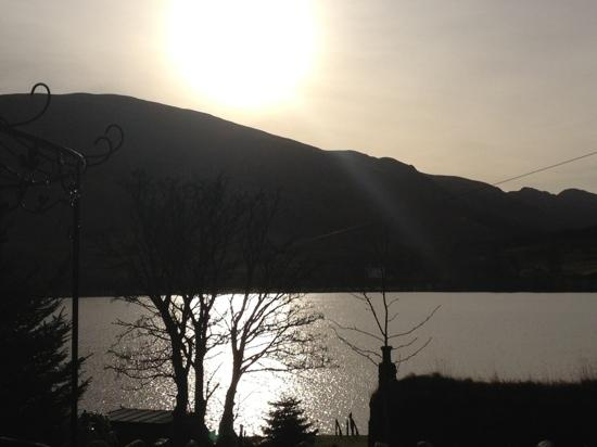Briar Cottages: sunset at Little Briar