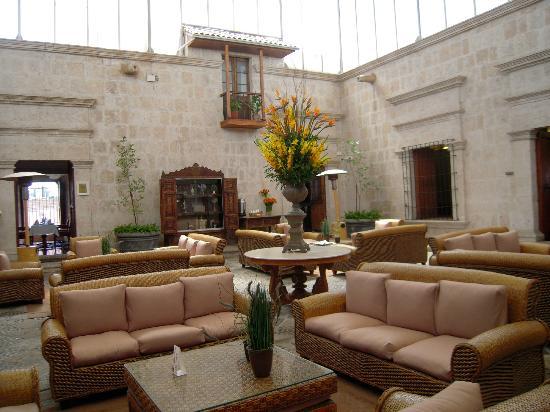 Hotels in arequipa pleiades peru tours for Casa andina classic arequipa