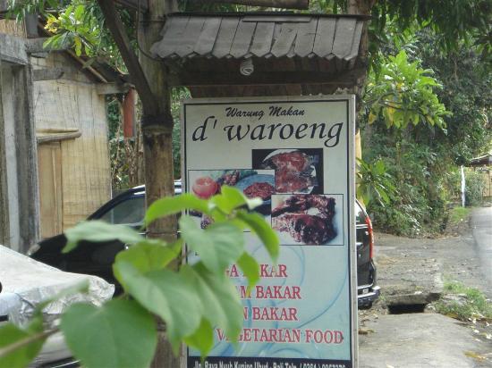 D'Waroeng: d'warueng Nyah Kuning, Ubud