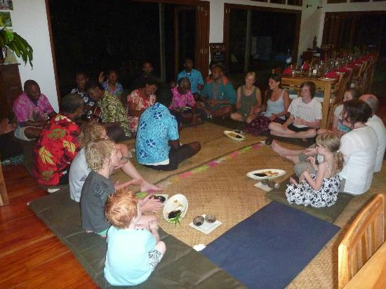 Matanivusi Surf Resort: Kava Ceremony