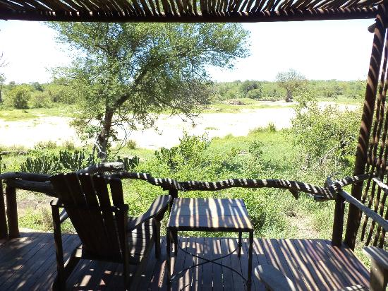 Motswari Private Game Reserve: My veranda
