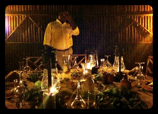 Motswari Private Game Reserve: Formal dinner