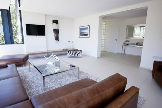129 on Kloof Nek: Living Area Luxury Apartment