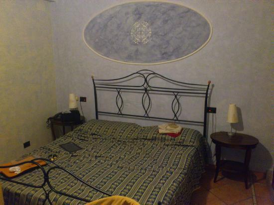 Airone Wellness Hotel: Letto