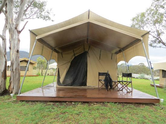 Spicers Canopy: our tent