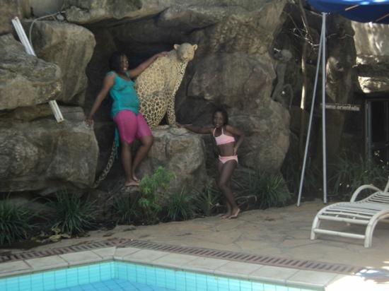Impala Hotel: Sheila & Daisy posing