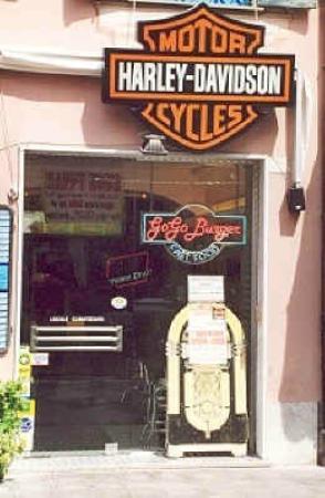Go Go Burger & Harley-Davidson ... un ottimo connubio!