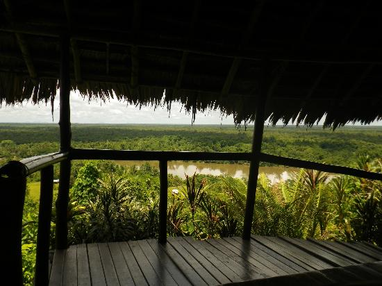 Karawari Lodge: The view from our room (4)