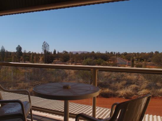 Desert Gardens Hotel, Ayers Rock Resort: View from our balcony