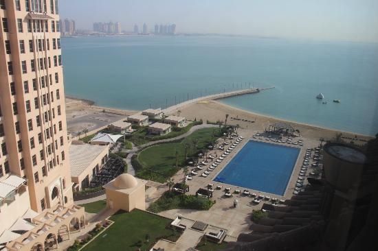 The St. Regis Doha: view from my room