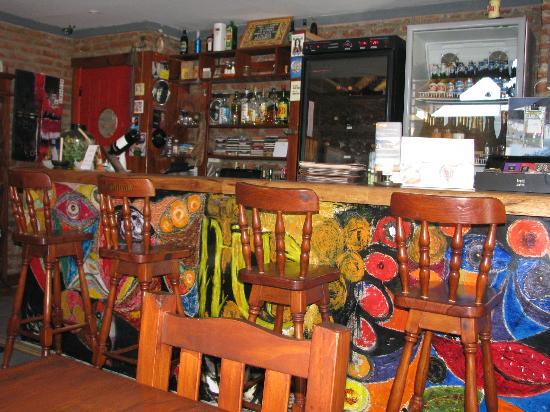 Hotel Lunajuim: Bar/dining room