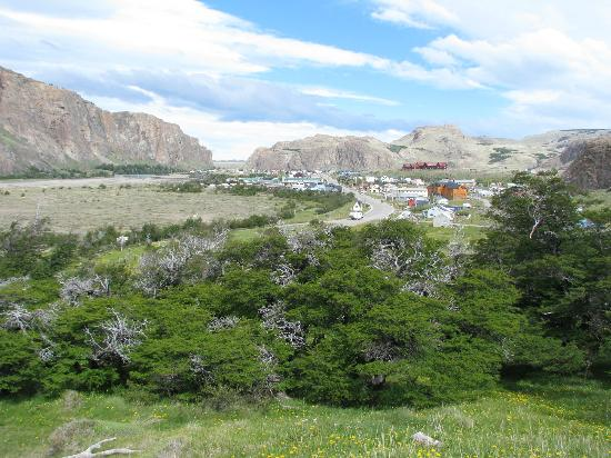 Hotel Lunajuim: View of El Chalten