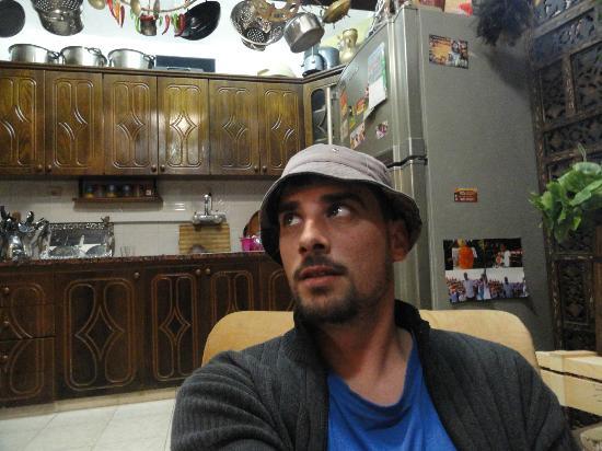 Akko Sand Hostel: Cocina a disposición de los huespedes