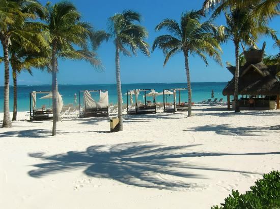 One Of The Beach Areas Picture Of Villa Del Palmar Cancun Beach Resort Amp Spa Playa Mujeres