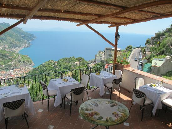 Hotel Parsifal Antico Convento del 1288: Our outdoor restaurant terrace