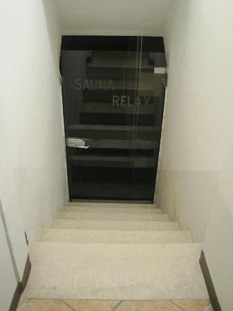 Hotel Mastino: The cellar!