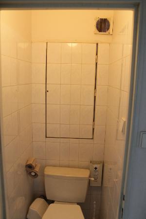 A&O Prag Rhea: Туалет