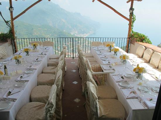 Hotel Parsifal Antico Convento del 1288: Wedding set up on our terrace restaurant