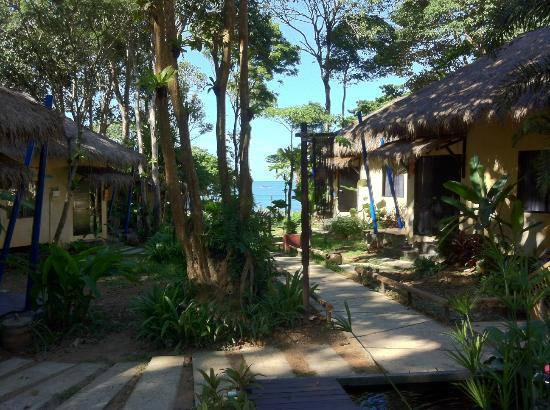 LaLaanta Hideaway Resort: View from the Resort