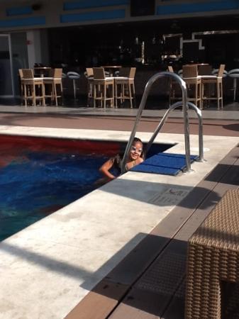 Hotel Riu Plaza Guadalajara: Excelente alberca para niños