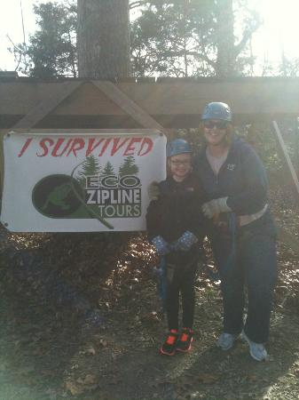 Eco Zipline Tours: Maddie and Mimi