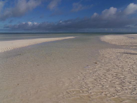 Ora Resort Watamu Bay : bassa marea