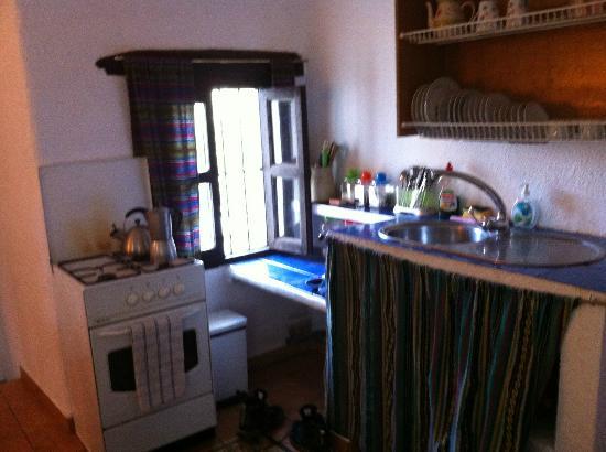 La Casa del Viento: Kitchenette