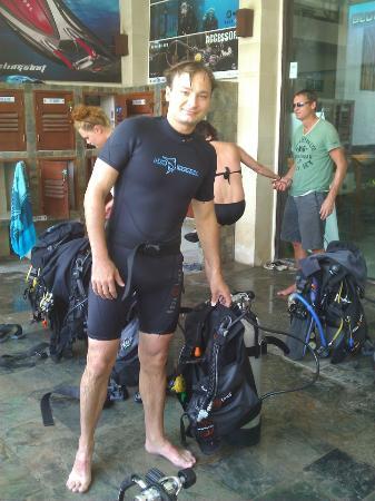 Blue Marlin Dive Gili Trawangan: Me