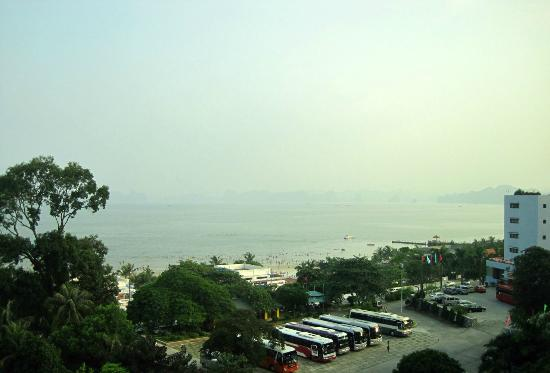 Heritage Halong Hotel: View from room