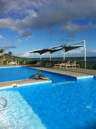 Nisbet Plantation Beach Club : The pool seemed little used.